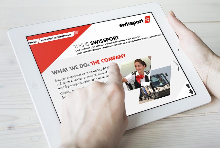 Libros presentación corporativa Swissport