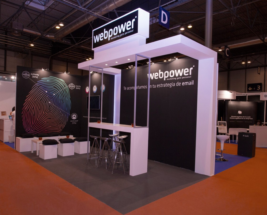 Web Power stand